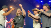 Post-Rehab, Morgan Wallen Does Shots, Sings Hits in Joining Luke Bryan for First Major Appearance Since Scandal