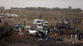 Officials Probe 'Foul Play' After Crash of Military Plane Close to Finding Abducted Nigerian Schoolboys