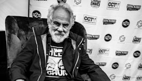 Tommy Chong Has a Plan to Save the World with Plastic Mountains