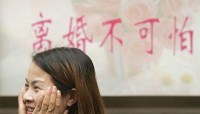 登記結婚一小時後鬧離婚 中國離婚現象呈年輕化