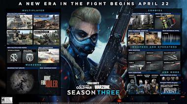 ¡La Temporada 3 de CoD: Black Ops Cold War y Warzone viene con todo!