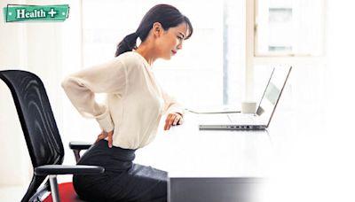 Health Plus │ 坐姿不良腰背痛 瑜伽8式強肌「有腰骨」 - 晴報 - 健康 - 筋骨痛症