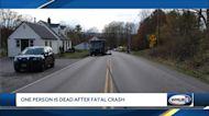 1 dead after crash in Walpole