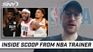 Elite NBA trainer shares insight about Kyrie, Carmelo and Trae Young in exclusive interview | SNY NBA Insider Ian Begley