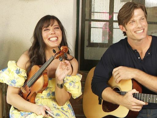 'Grey's Anatomy' Star Chris Carmack Talks Creating Music With Wife Erin Slaver (Exclusive)