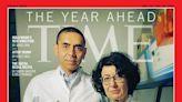 武肺流行掀起疫苗革命 BioNTech創辦人登時代雜誌國際版封面
