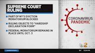 U.S. Supreme Court Blocks Part Of New York's Eviction Moratorium