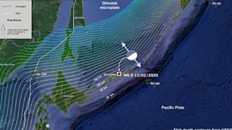Powerful 7.0-magnitude earthquake strikes off of Japan and Russia