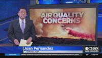 Air Quality Advisory In Effect Through Friday Afternoon Due To Smoke From Central, Northern Calif. Wildfires