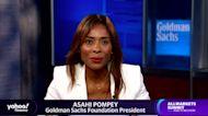 Goldman Sachs Foundation President Asahi Pompey on Black Lives Matter: I hope it's not a false dawn