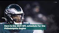 Philadelphia Eagles 2021 NFL schedule