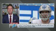 Pelissero: Lions make Frank Ragnow NFL's highest-paid center