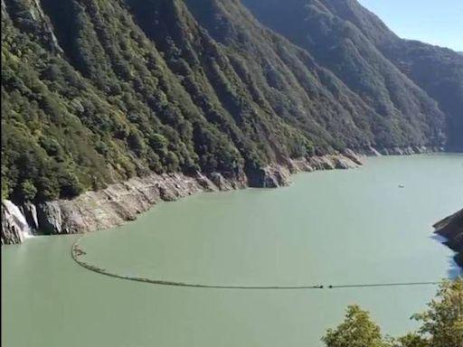 山區下雨 德基水庫再進帳179萬噸、蓄水率達59.5%