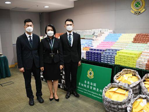 歷來最大宗 海關檢5500萬元壯陽藥等受管制藥物 拘集團5人另涉洗黑錢