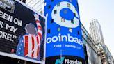 Coinbase shares soar as public trading begins