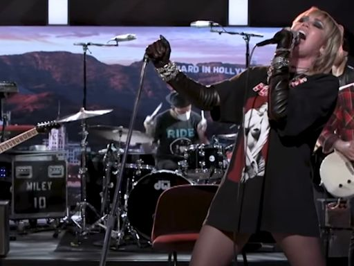 "Watch Miley Cyrus Covers Hole's ""Doll Parts"""