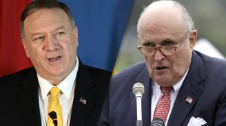 Pompeo worked with Guiliani on Ukraine