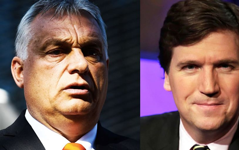 Tucker Carlson's Orban Lovefest Is a Dark Glimpse of the Future MAGA Wants
