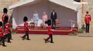 President Biden, first lady meet Queen Elizabeth II