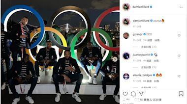 美國男籃「五環」前合照帥爆 杜蘭特遇狂粉是比利時女籃國手