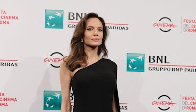 Angelina Jolie Demonstrated the Power of the LBD on the Red Carpet