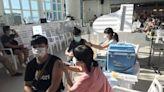 台南全運會選手黃金海岸方舟打疫苗 兼賞海景夕陽