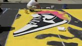 Black Lives Matter Mural Spans Street Block in Lynn
