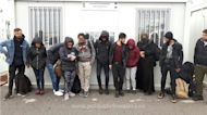 Group of Migrants Found Inside Van on Romanian-Hungarian Border