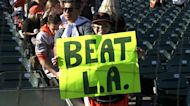 One hour before NLDS game between SF Giants, LA Dodgers