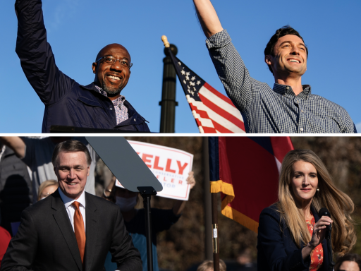 What exit polls say about state of Georgia's Senate runoffs