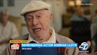 Veteran actor Norman Lloyd dies at 106 in Los Angeles