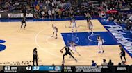 Kevin Durant with a 2-pointer vs the Philadelphia 76ers