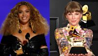 Beyonce and Taylor Swift make history at the Grammys