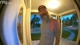 Man heard saying he wants to 'rape, kill' woman in Las Vegas home security video