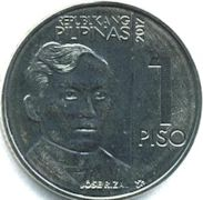 Philippine one-peso coin