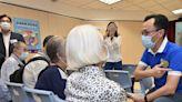 聶德權出席「安心在東區」疫苗接種日 呼籲長者流感季節前接種