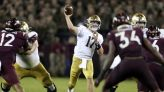 Notre Dame's latest QB saga produces a thrilling win and more questions