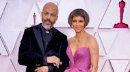 Oscars 2021: Halle Berry Rocks a Shorter 'Do During Red Carpet Debut With Boyfriend Van Hunt