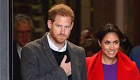 Prince Harry's surprised reaction to romantic Valentine's Day gesture for Meghan Markle shown in sweet throwback