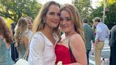 Brooke Shields' Daughter Rowan Rocks Her Mom's 1998 Golden Globes Dress to Prom: 'Proud Mama'