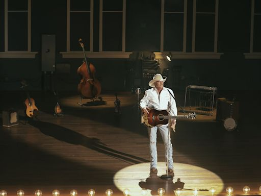Alan Jackson Performs At Historic Ryman Auditorium For 'Where Have You Gone' Video