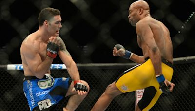 Chris Weidman: 'Anyone saying I celebrated when Anderson Silva's leg snapped is entirely wrong'