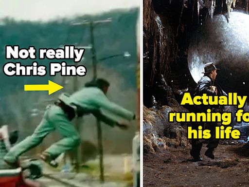 """15 Incredible Stunts Actors Did Themselves, Plus 14 Where Their Stunt Doubles Were Like """"Please Sit Down"""""""