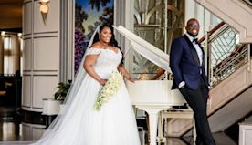 Bridal Bliss: Tiffany And Matthew's Chateau Ceremony Stole The Show