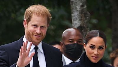 'It's wonderful to be back' says Meghan, on first public appearance with Harry since Lilibet's birth