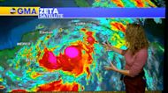 Tropical Storm Zeta rapidly strengthens, extreme fire danger in California