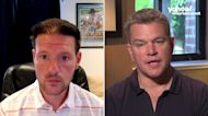 Matt Damon talks COVID vaccine hesitancy a year after 'Contagion' PSA