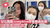 【少女版甘比】罕有晒自拍照 12歲Josephine眼大激似媽咪