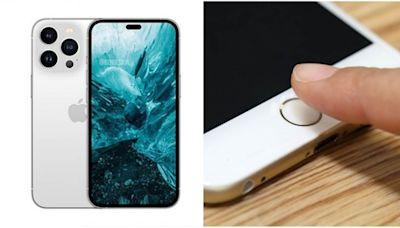 果粉歡呼!最新「無瀏海」iPhone 14曝光,Touch ID將回歸