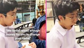 Teens Surprise Trans Classmate With Money To Legally Change His Name